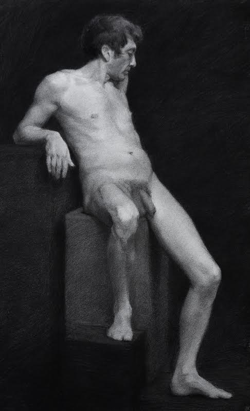 giovanni, charcoal on paper, 2012