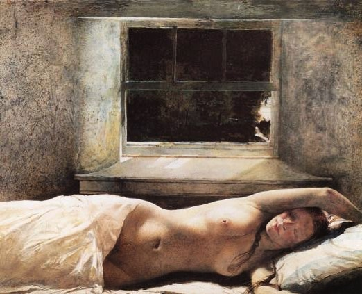 Current inspo 🌑 & happy new moon, last of this year. Andrew Wyeth, Helga series.
