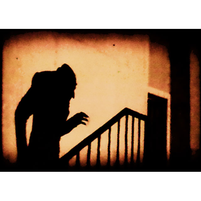 From   Nosferatu  , directed by F. W. Murnau.      1922.
