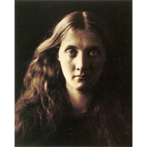 Julia Jackson Duckworh, by Julia Margaret Cameron.  Albumen print, 1867.    ©   National Museum of Photography, Bradford.