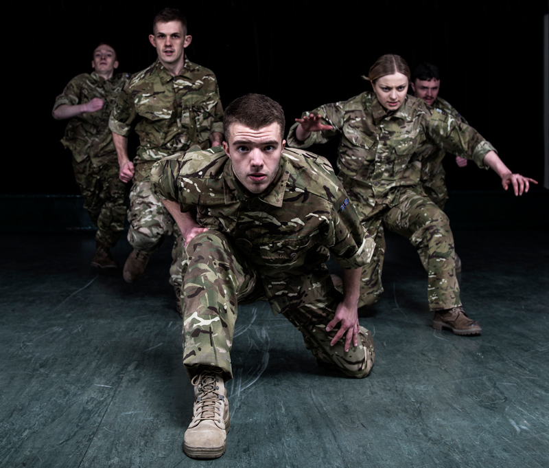 Rosie Kay Dance Company's '5 Soldiers' UK Tour 2015