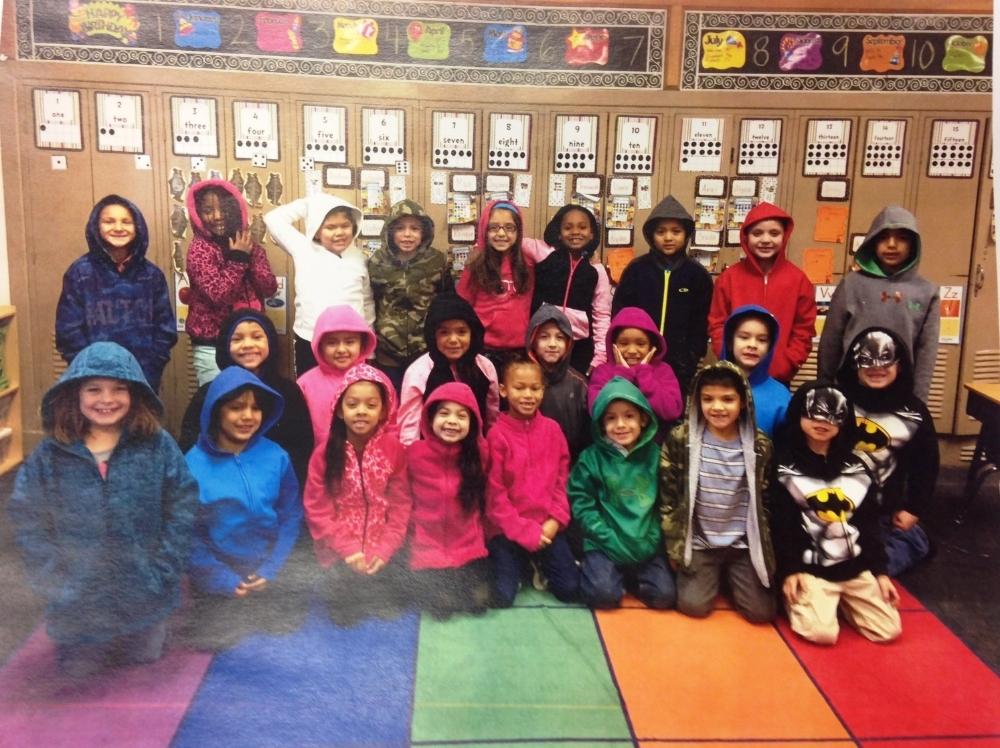 Mrs. Shafer's First Grade Class at Bayless