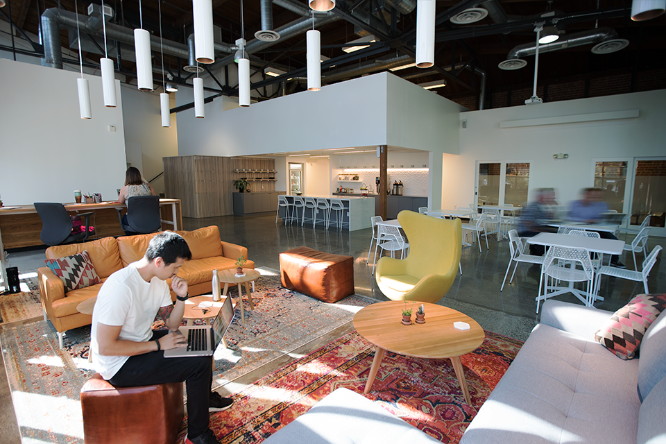 New workshop and event space at our Emeryville headquarters.
