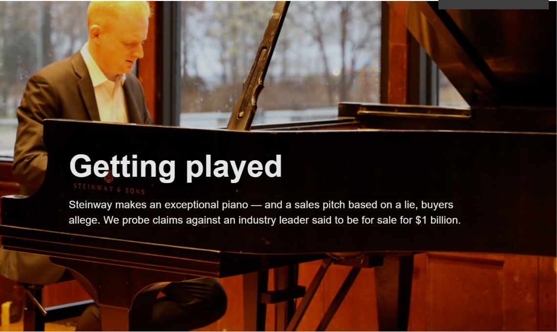 Photo of pianist Steve Beck by NeOn Photography
