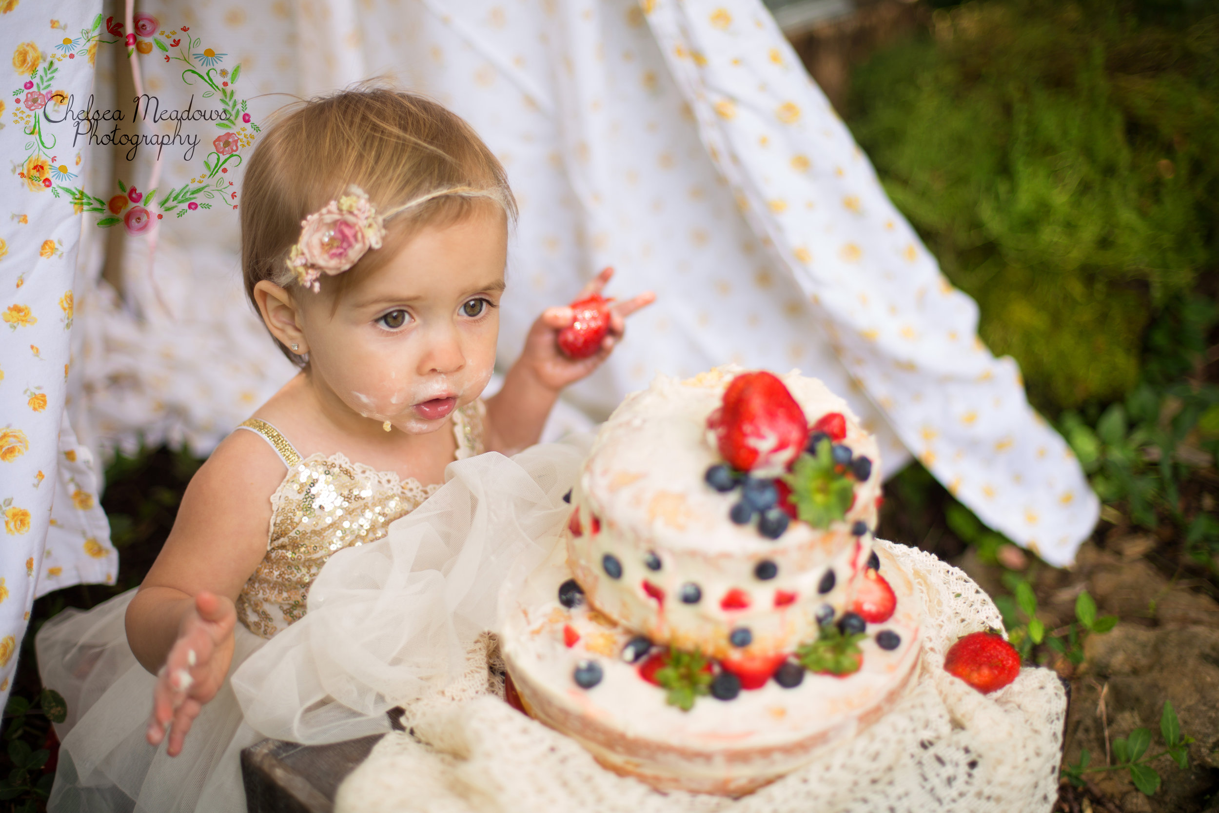Paisley First Birthay Cake Smash - Nashville Family Photographer - Chelsea Meadows Photography (4).jpg
