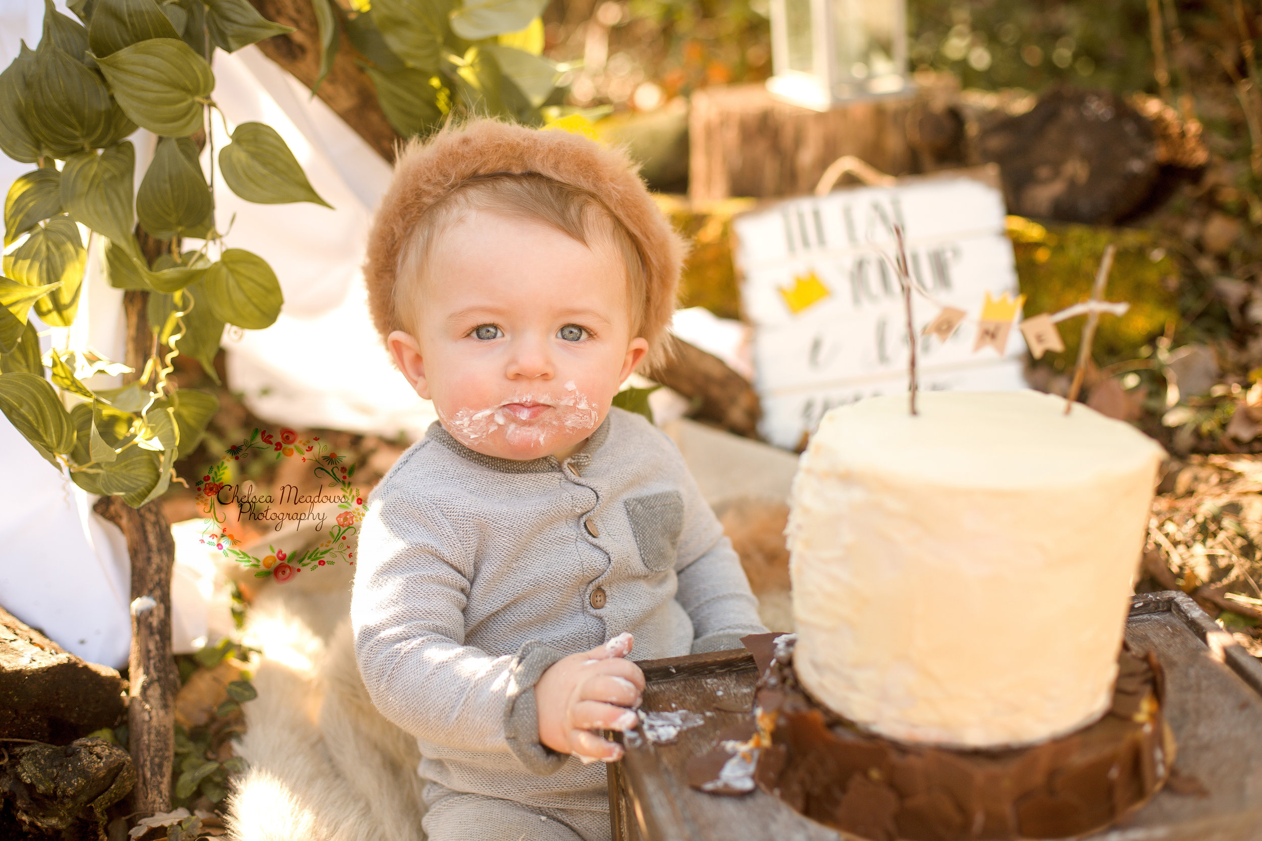 Matteo First Birthday Cake Smash - Nashville Family Photographer - Chelsea Meadows Photography (57).jpg
