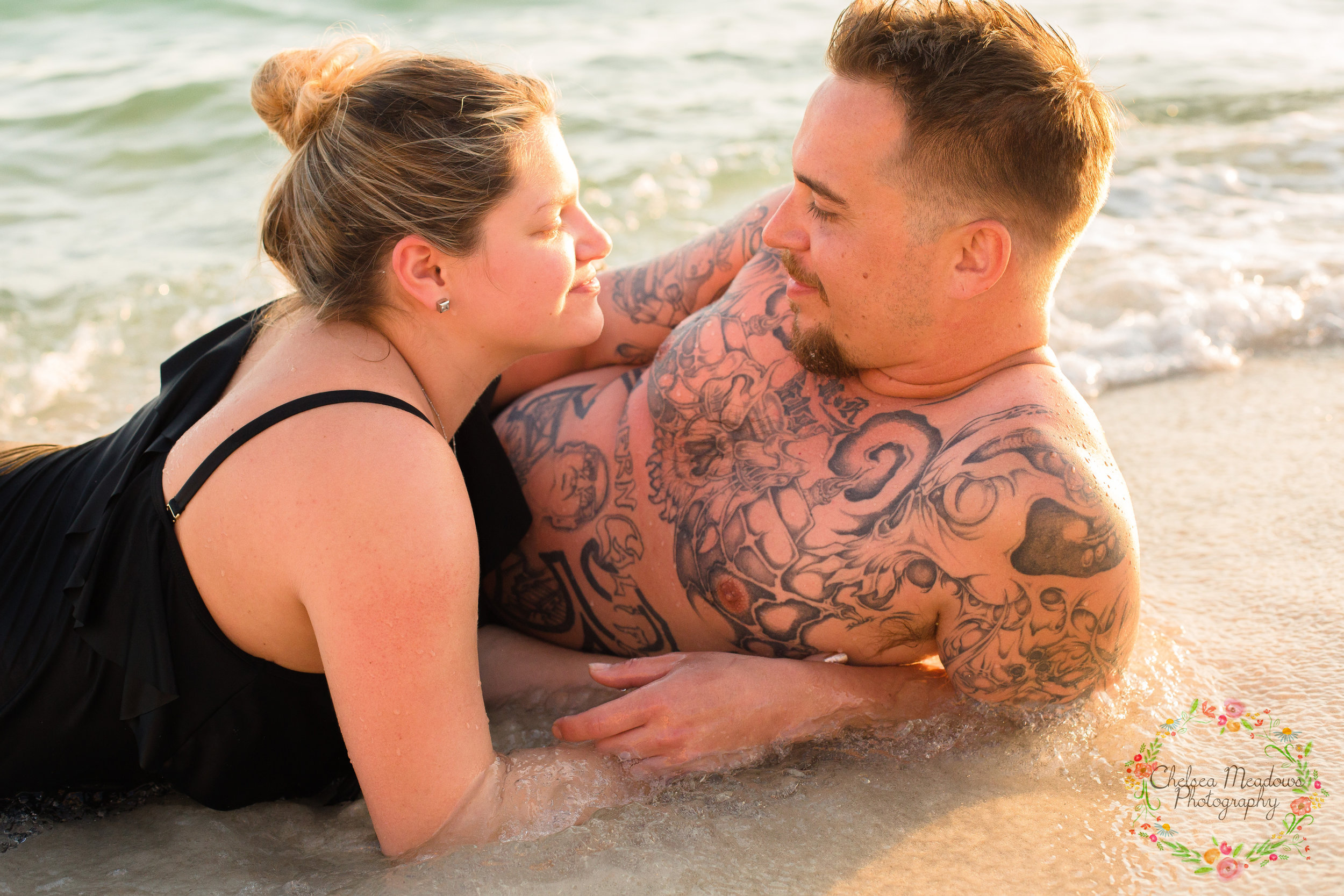 Nicole & Drew Beach Maternity - Nashville Maternity Photography - Chelsea Meadows Photography (81).jpg