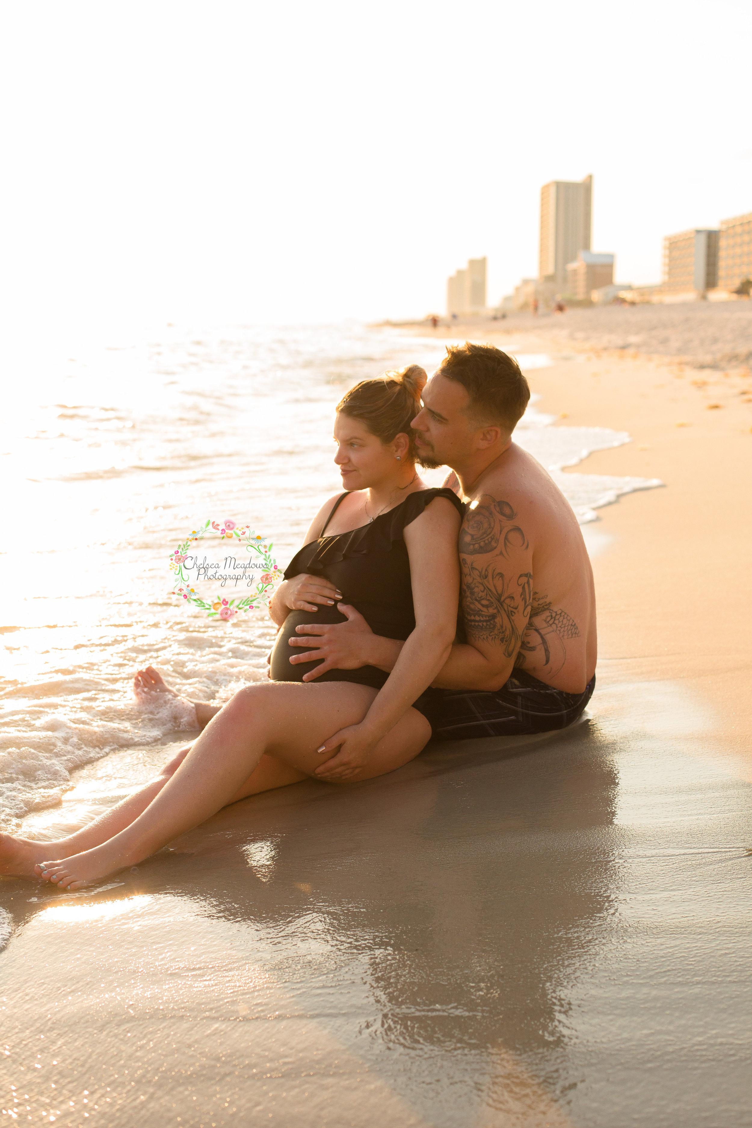 Nicole & Drew Beach Maternity - Nashville Maternity Photography - Chelsea Meadows Photography (67).jpg