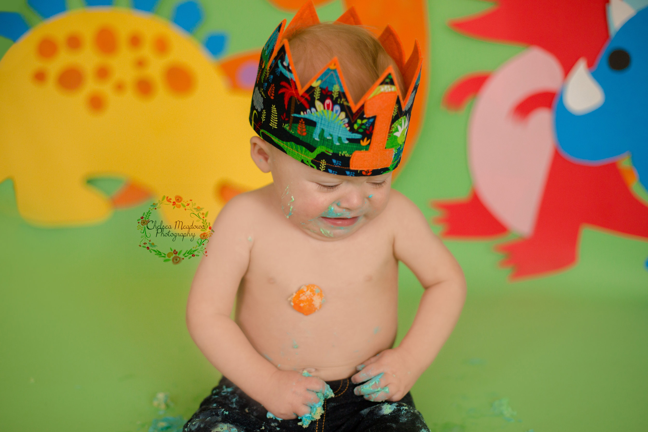 Owen First Birthday - Nashville Family Photographer - Chelsea Meadows Photography (80).jpg