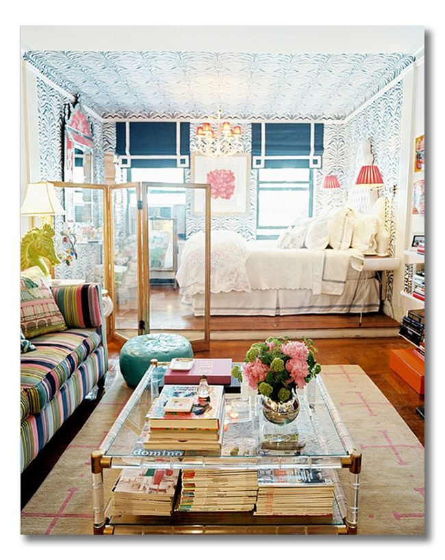 Bold & Beautiful Studio Apartment