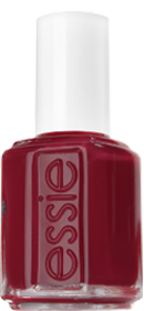 Fishnet Stockings nail polish by Essie – Look no further! This nail polish is the perfect red hue for the holiday season.