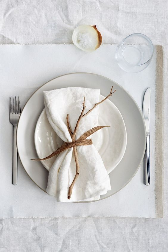 twig napkin holder