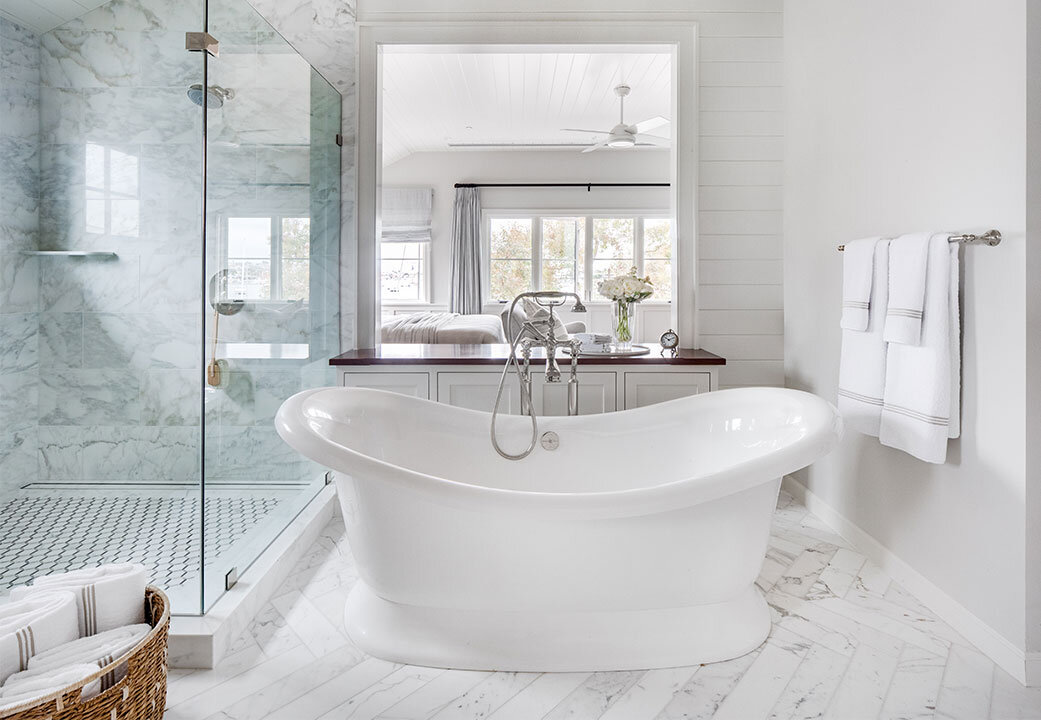 En Suite designed by Valerie Saunders  Photographed by Chad Mellon