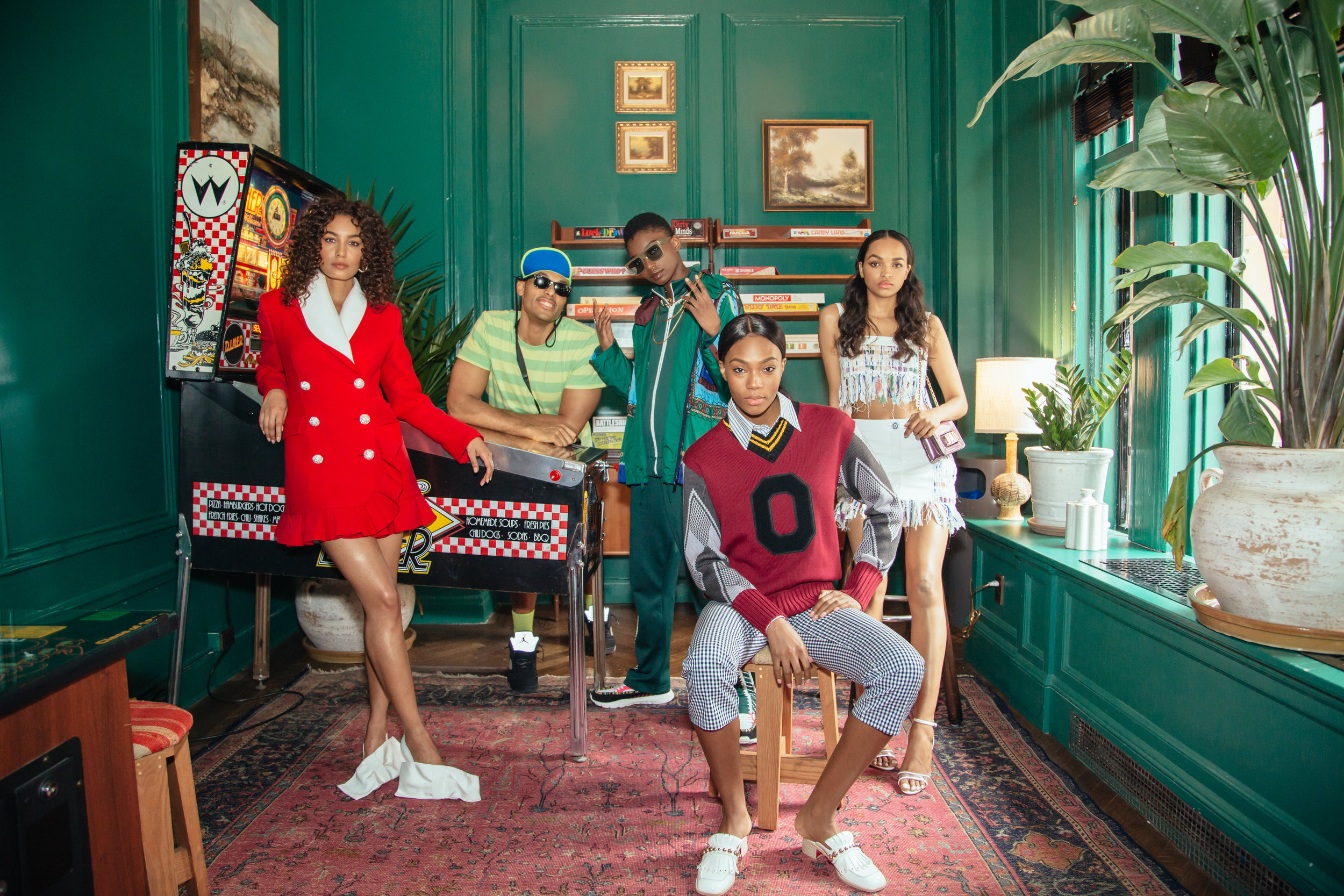 """Iconic Black Sitcoms of the '90s: A Visual Homage to Their Style and Influence"" for Man Repeller"