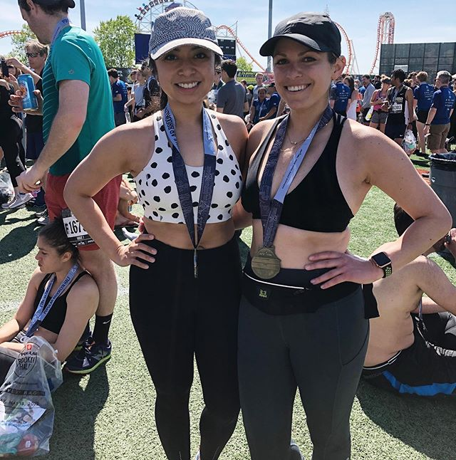 Woohoo!!🎉🥳🙌 Congrats to Dr. Sam, Dr. Kat and all the runners today for completing the #brooklynhalf 🙌🙌 . Great job guys!!👍👊 . . . . . . . #trainingforhalfmarathon #halfmarathon #brooklyn #runnersofinstagram #runner #runninggirl #runclub #physiolife #physio #physiotherapy #physicaltherapy #DPT #weekendvibe #wellnessjourney #wellnessjourney #movementculture #movementspecialist #movement #movewithpurpose #orthopedic #pelvicfloor #scoliosis #core #pilates #stability #mobility #nyc #greenwich #manhasset