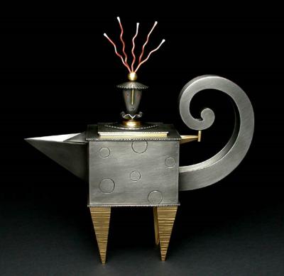Teapot with Wild Hair