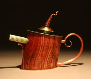 Burning Teapot
