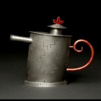 Three Leaf Teapot