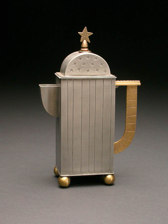 Stars and Stripes Teapot