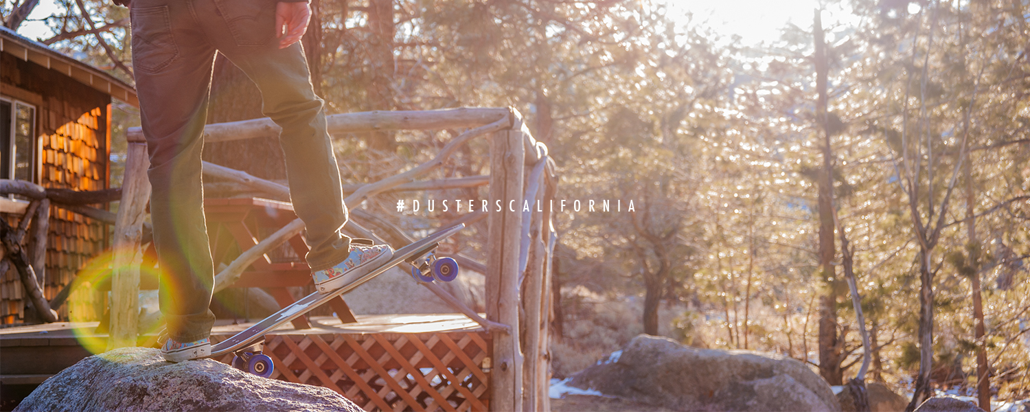 Dusters California | Holiday 2015 lookbook skateboards