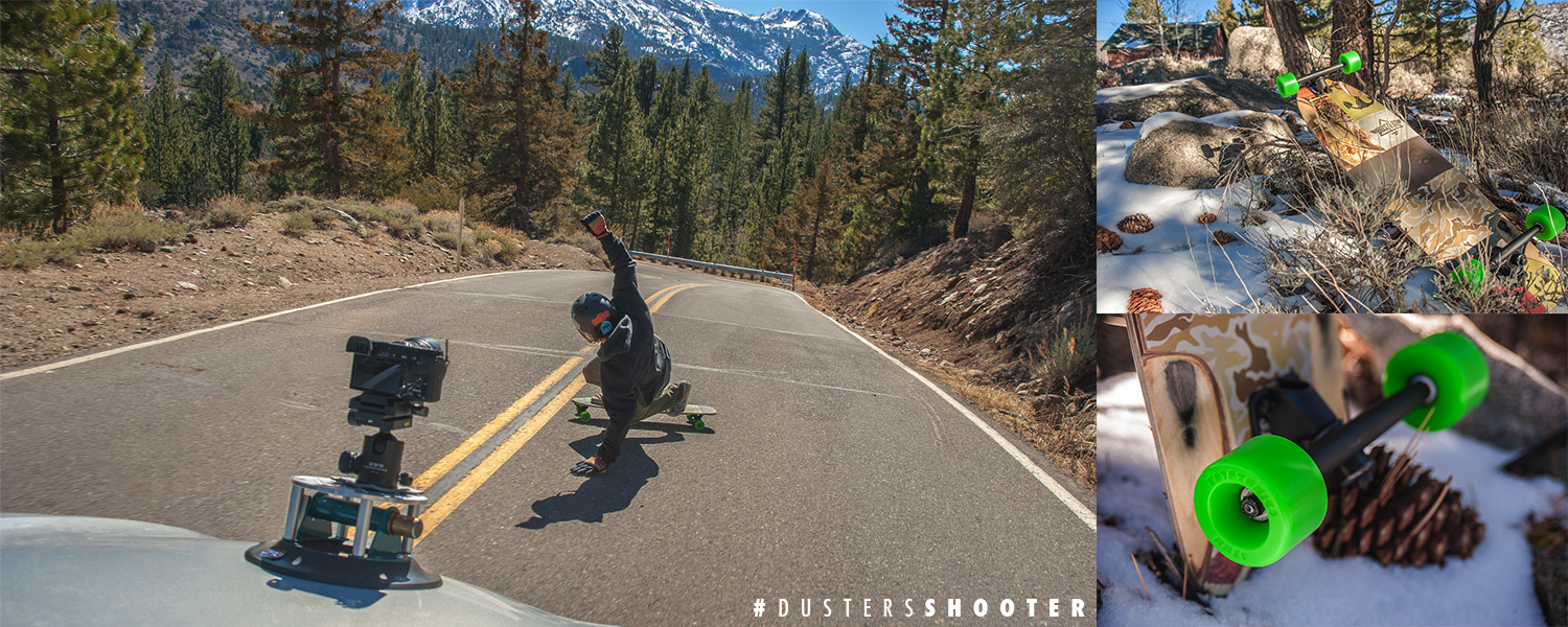 Dusters California | Shooter Downhill Longboard Sliding