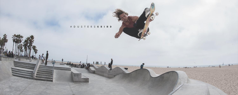 Dusters California venice beach skatepark lookbook