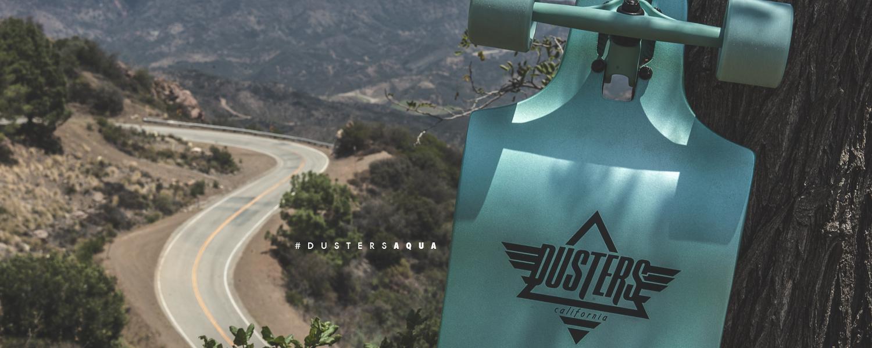 Dusters California Aqua Downhill Longboard
