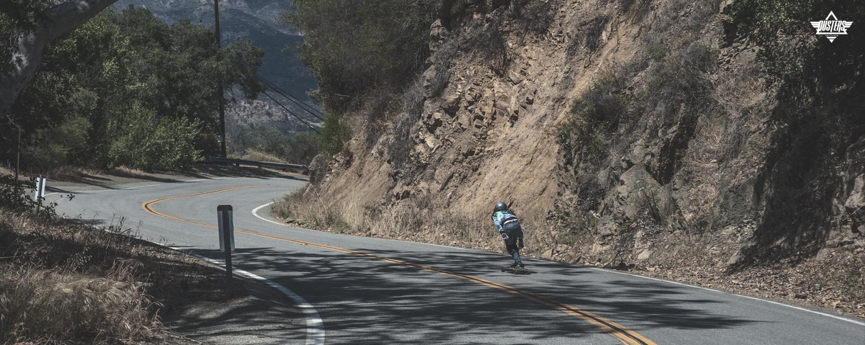 Dusters California Aqua Downhill Longboard spring 2016 lookbook hills