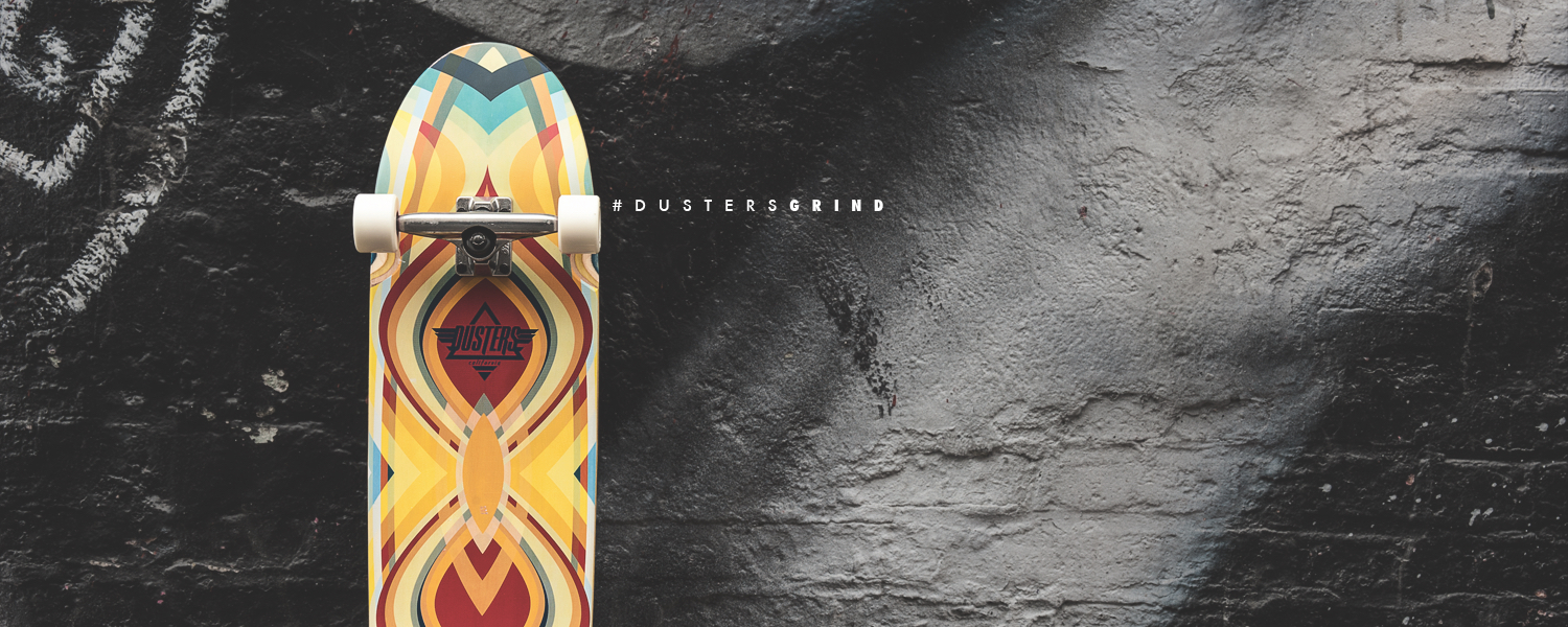 Dusters California grind cruiser board