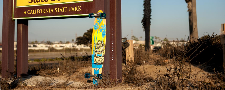 Dusters California Spring 2017 Longboard Skateboard skate cruiser vw bus quiver