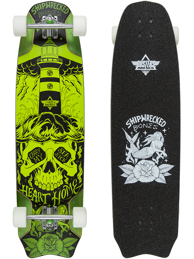 Bones Green Downhill Longboard