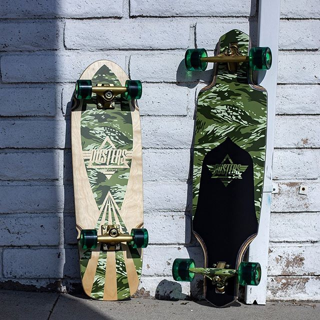 The 2 most popular shapes are back in camo! The Cazh and Channel Guard are available in stores and online 👌