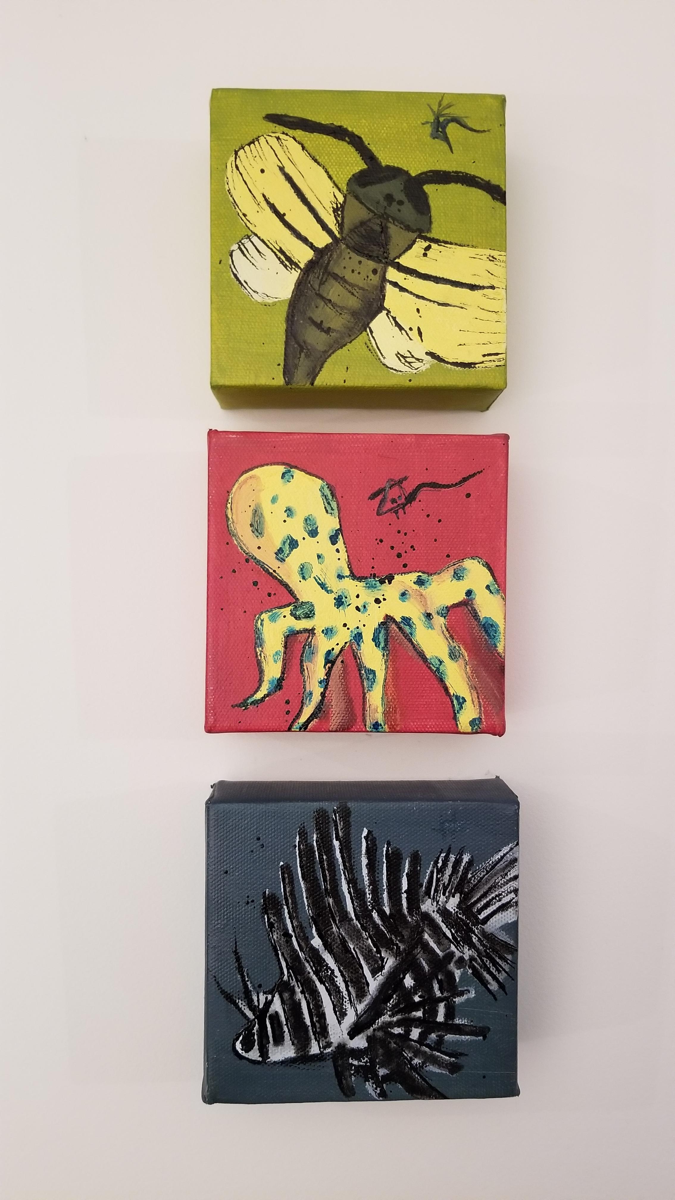 Danger Animals  Acrylic on Canvas, 2000