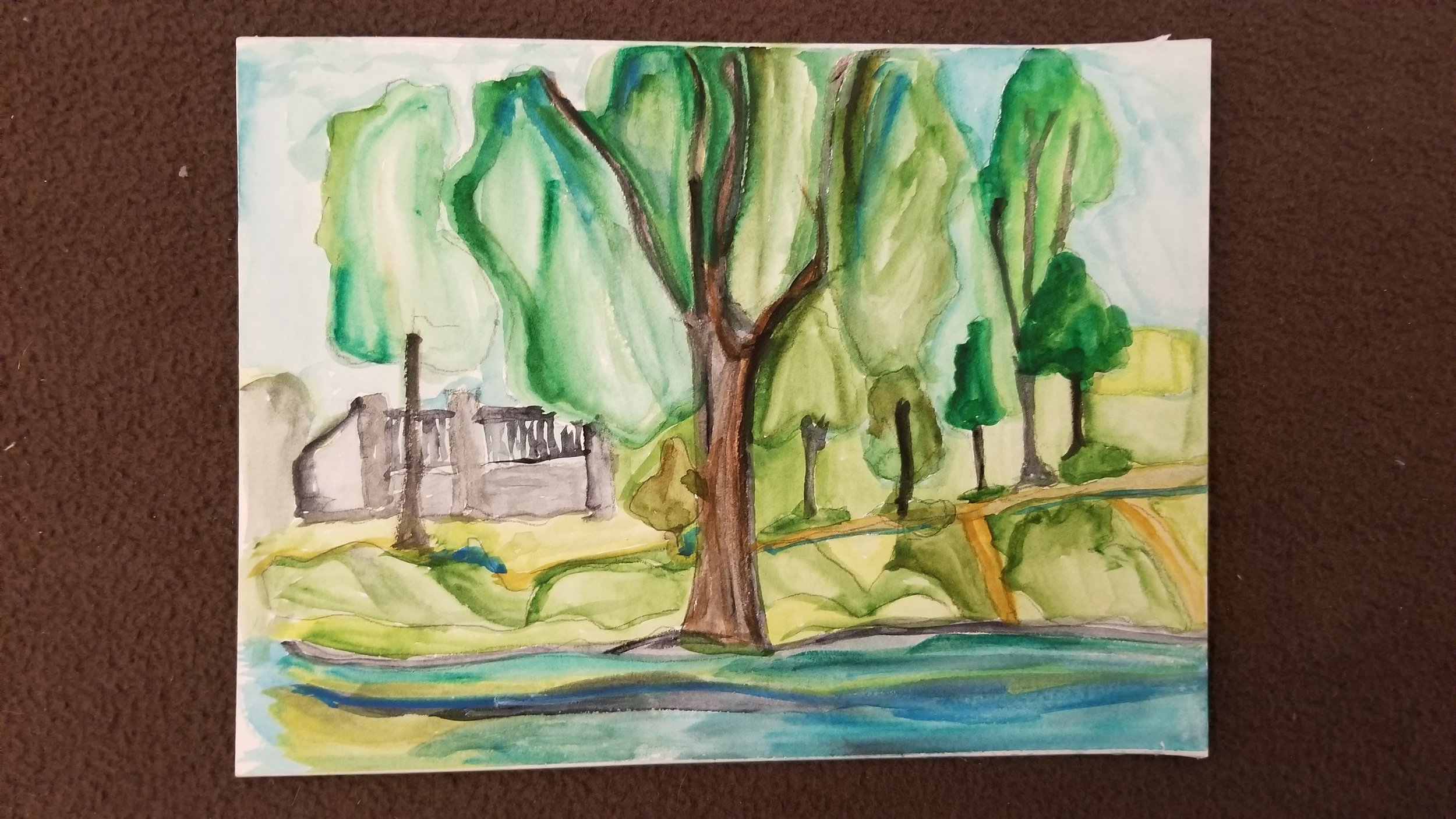 Montreal Summer 2017  Watercolour on Paper