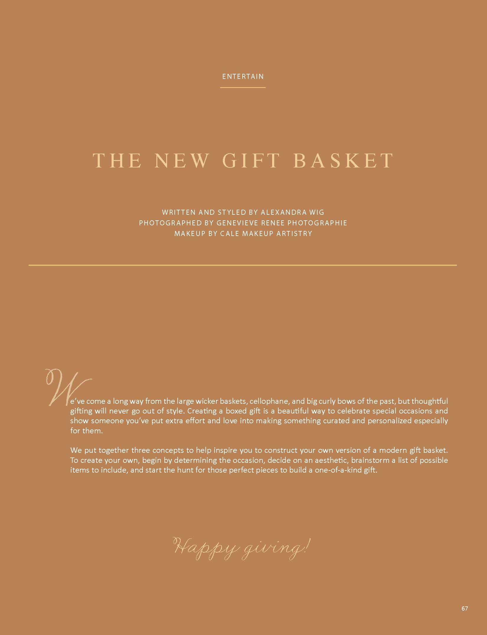 page 2 The new gift basket