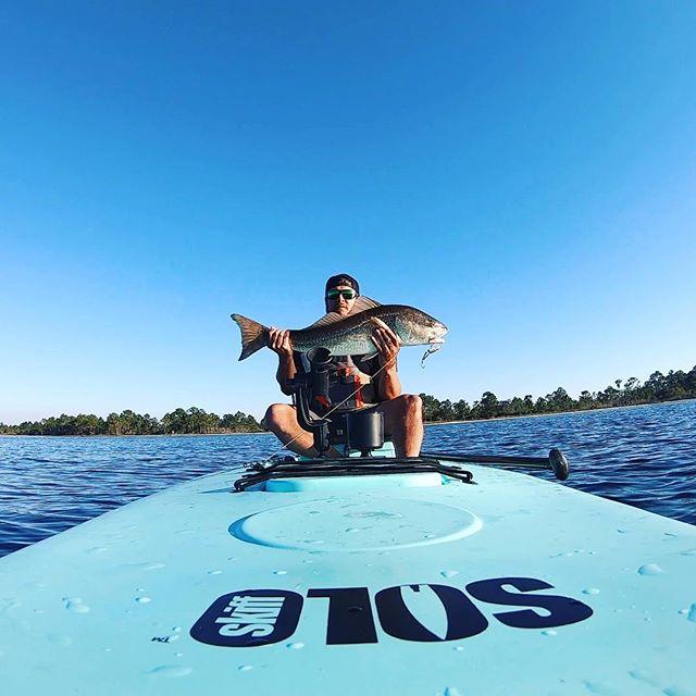 Sunday Funday! #redfish #catchandrelease #destinflorida #soloskiff #fishingcharters