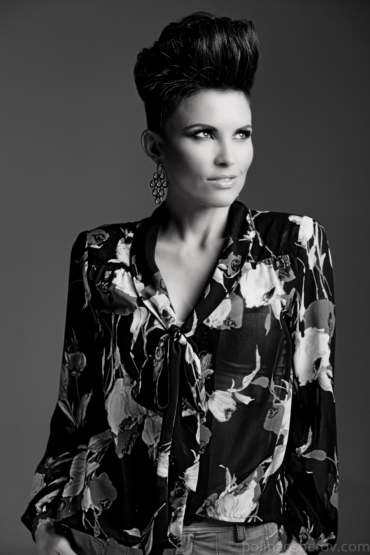 Blanc et Noir, Photograph by Polina Osherov, 2013