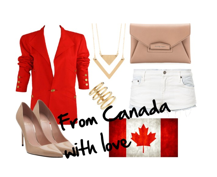 Jacket from Chanel / Shoes from Stuart Weitzman / Clutch from Givenchy / Denim from Sass and Bide /