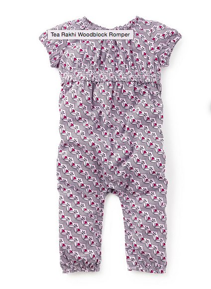 Who says that rompers are just for grownups! Love this little one for a bub on the go... find it  here