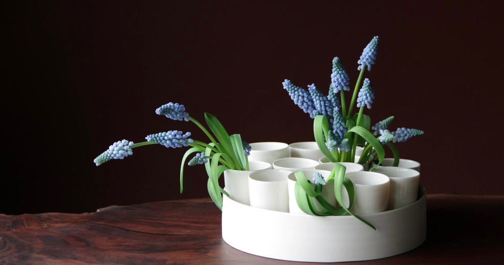 Just in time for your spring table, if you love it, shop it  here .