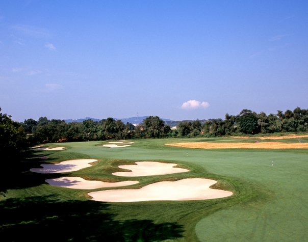 Hole No. 16: In the style of Dick Wilson