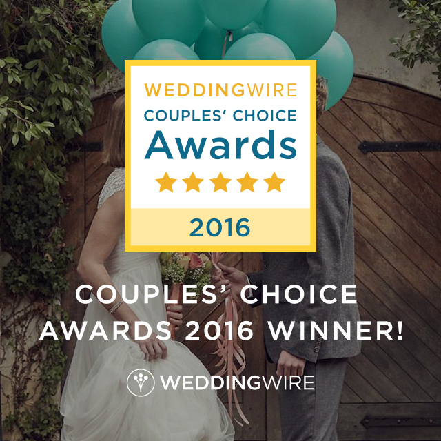 The Architects Golf Club is recognized as a top Ceremony & Reception Venue as a recipient of WeddingWIre's Couple's Choice Award 2016