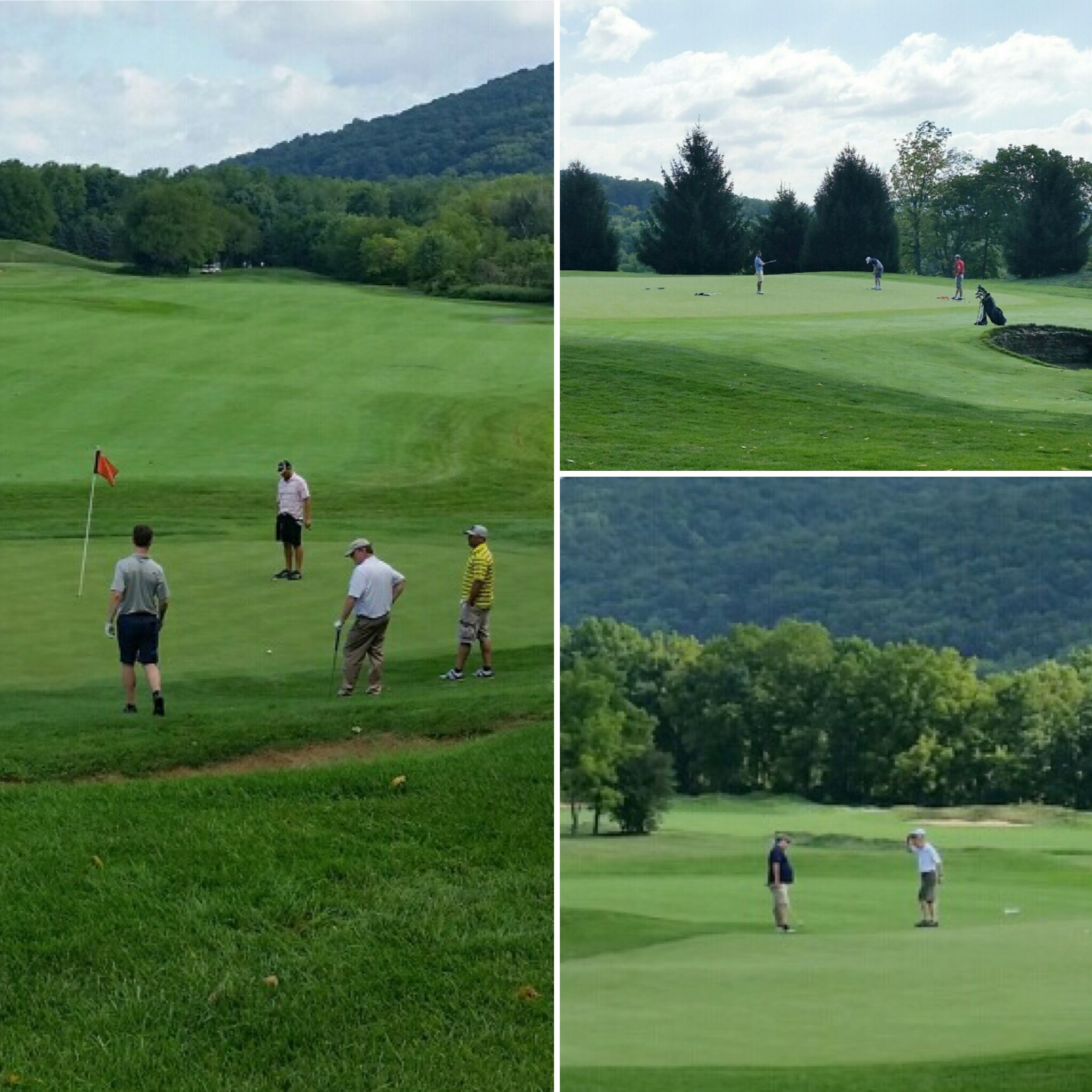 The Architects Golf Club, Friday, August 26, 2016. Lopatcong, New Jersey. Photos by: Lawrence J. Turco