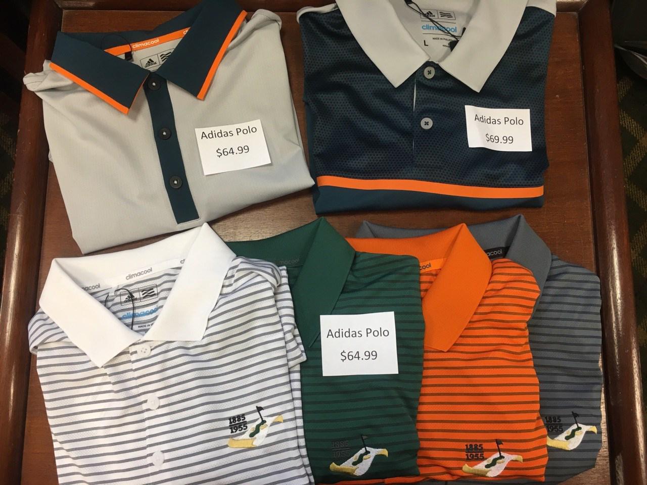 Shirts & Polos:$69.99 - $84.99