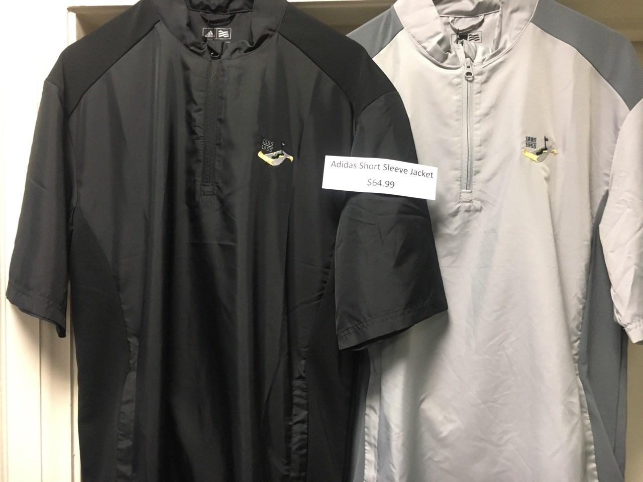 S  hort Sleeve Jackets: $64.99