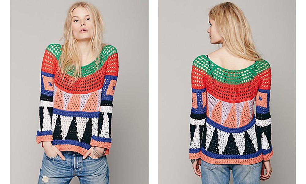 Modern Art Pullover