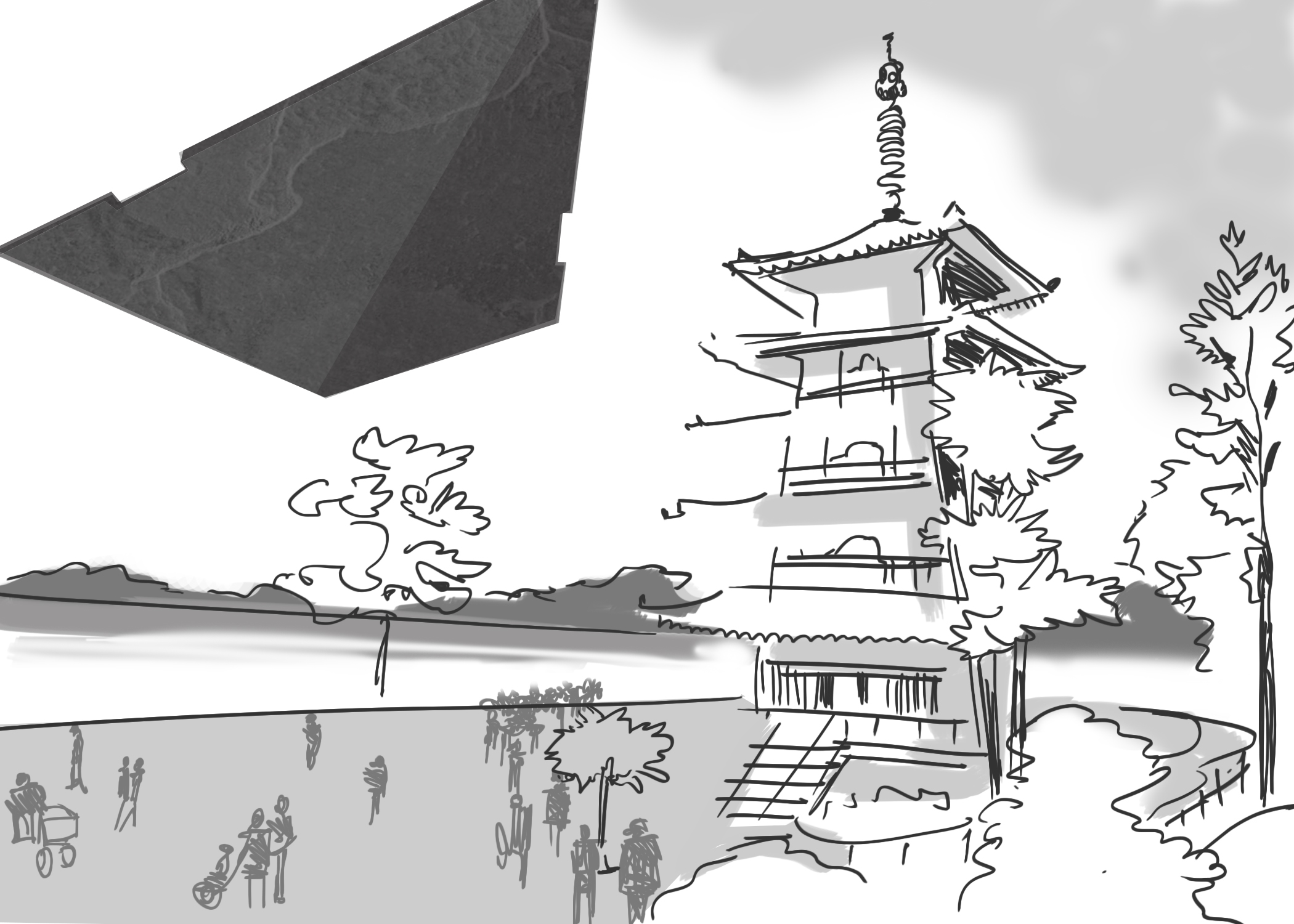 Destroyer over Pagoda.jpg