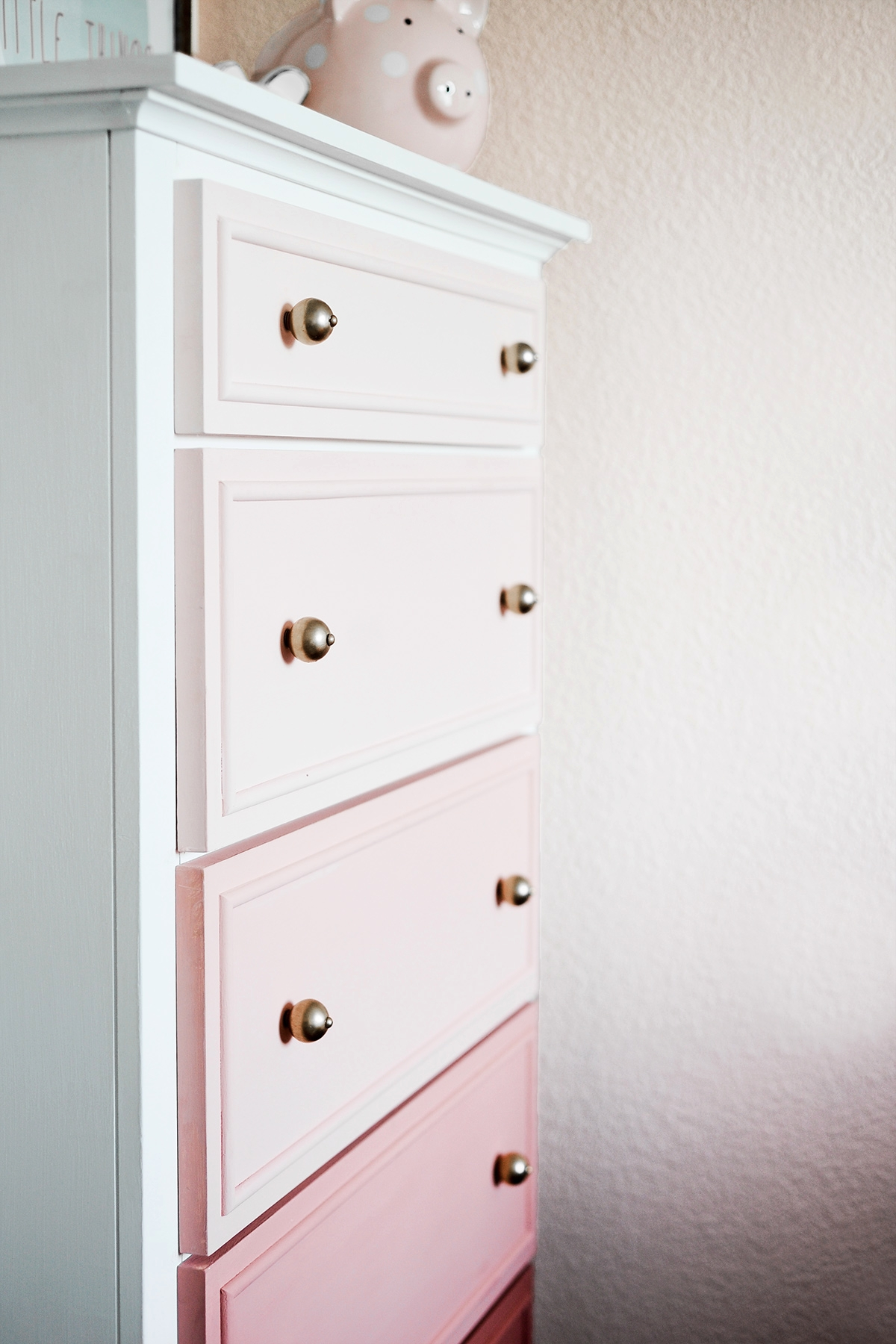 DRESSER - Dresser or Changing Table + Paint Brush + White Milk Paint + Primary Color Milk Paint