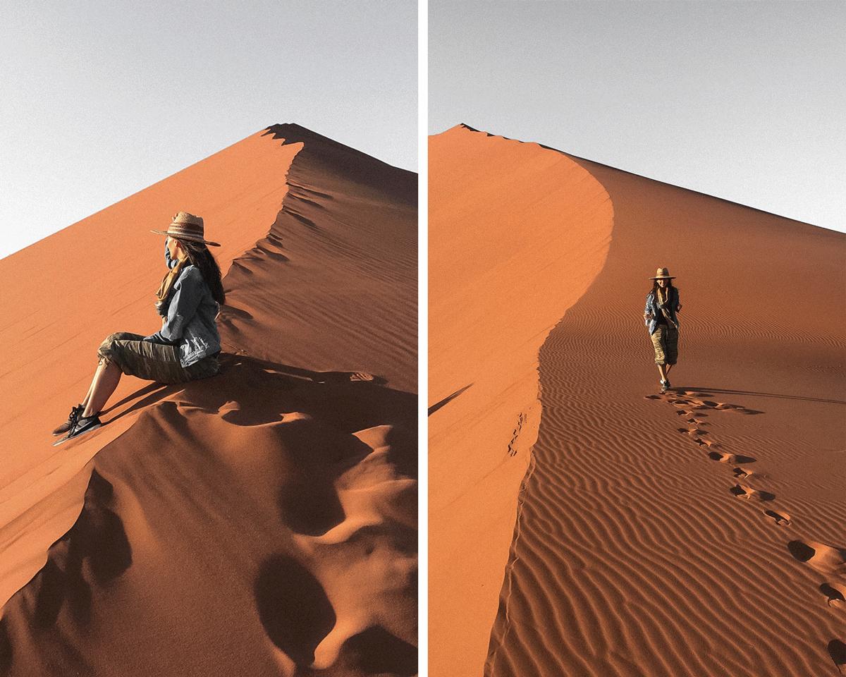 Rachel in Namibia