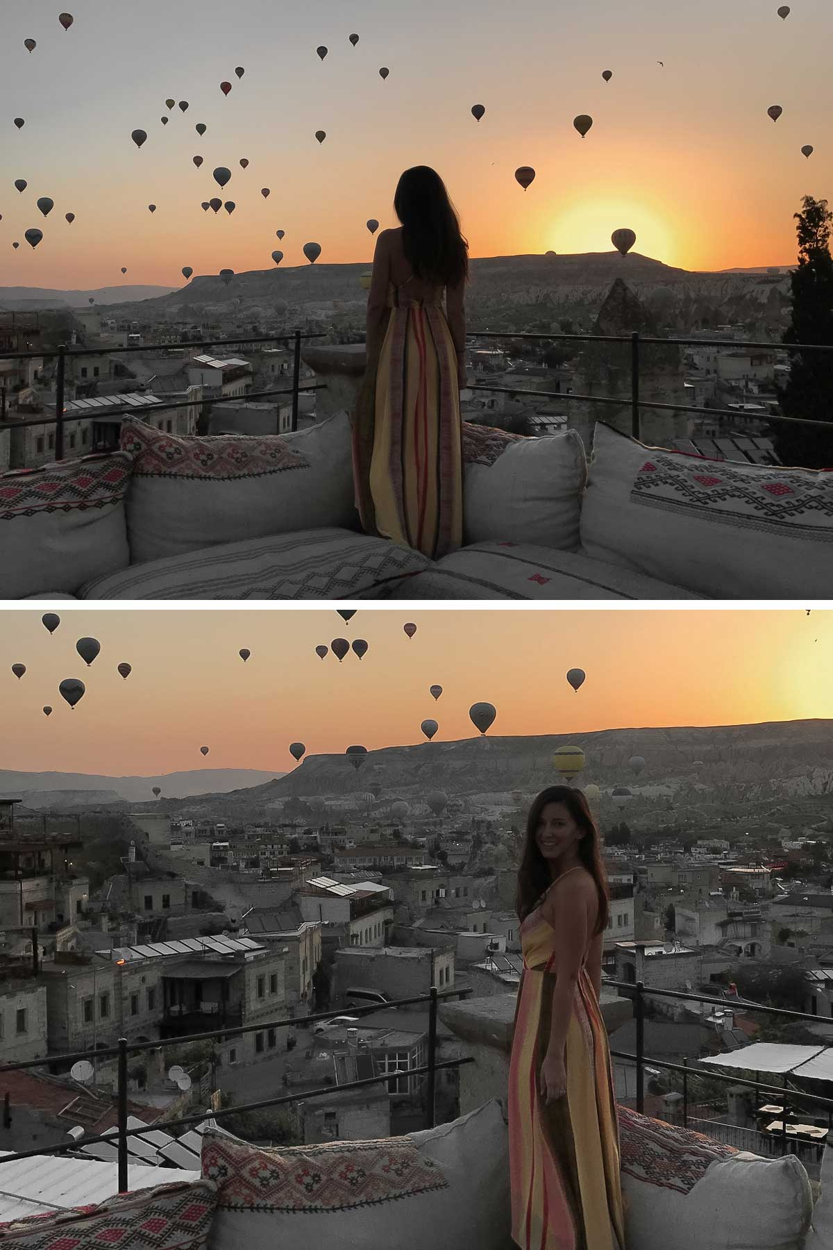 Rachel in Cappadocia, Turkey